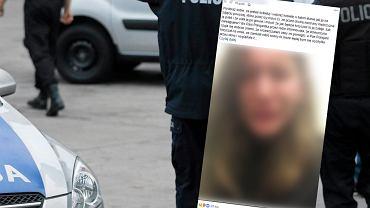 Studentka łódzkiej szkoły filmowej po napaści seksualnej na ulicy Wigury w Łodzi