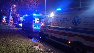 Dwie osoby zginęły w pożarze mieszkania przy ul. Czumy na Bemowie