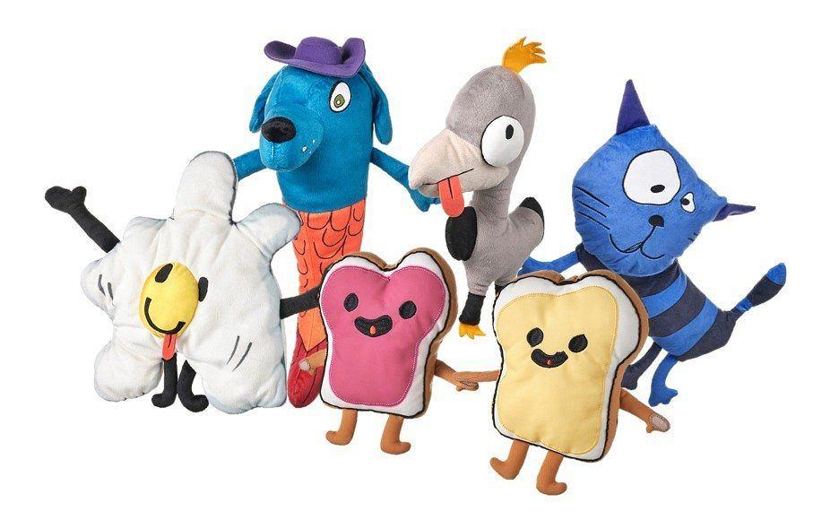 Zabawki małych projektantów z kolekcji IKEA SAGOSKATT