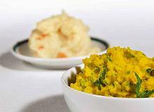 Ziemniaki z curry, miętą i kolendrą - ugotuj