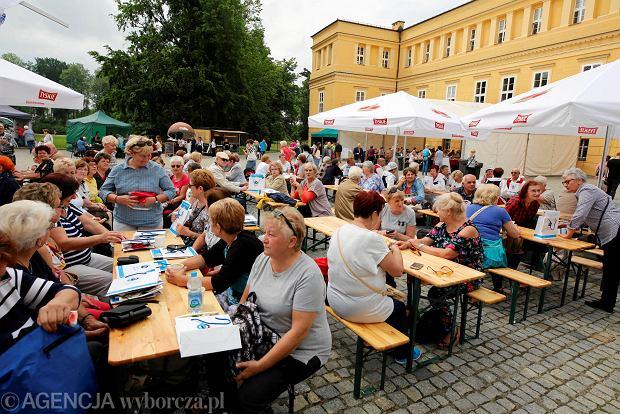 Senioralia, czyli plenerowe imprezy dla dojrzałych mieszkańców województwa śląskiego, to fenomen