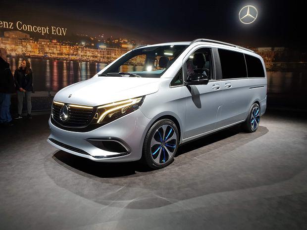 Mercedes-Benz EQV Concept