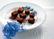 Trufle z czarnej czekolady - ugotuj