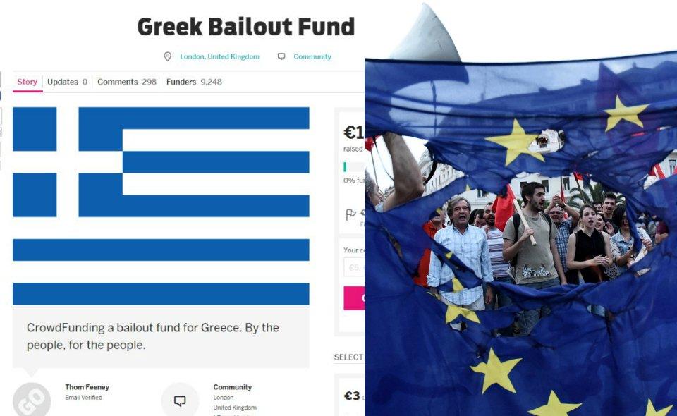 Zbiórka na grecki dług