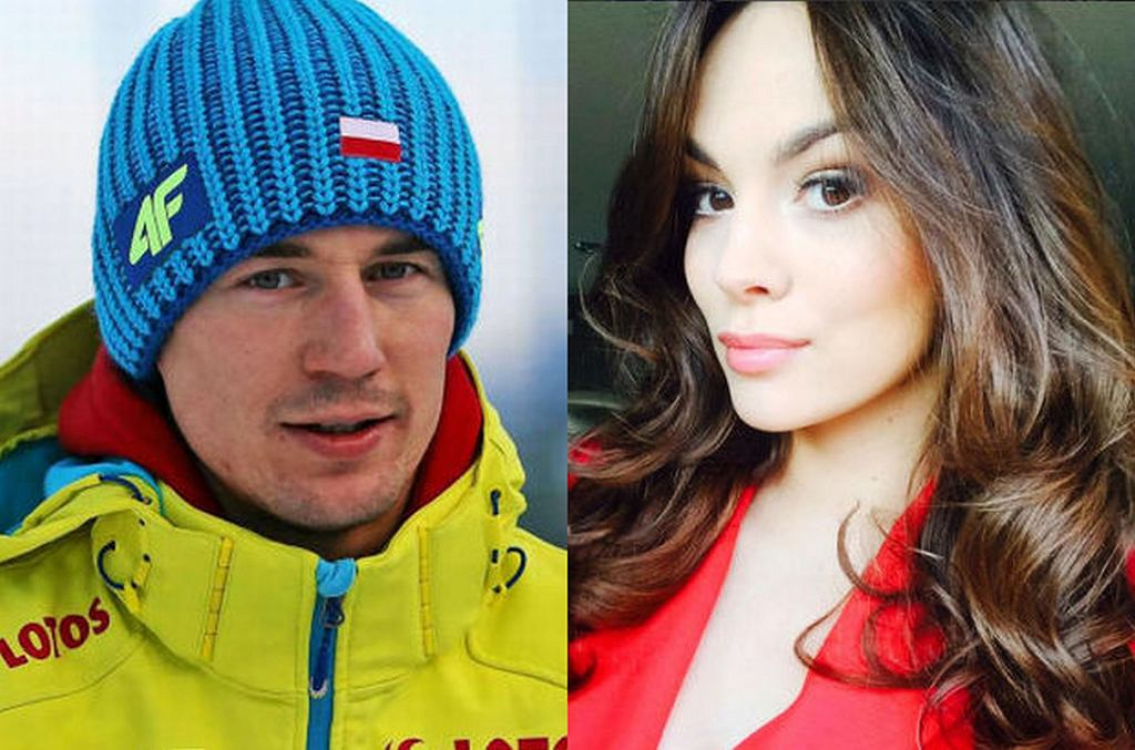 Kamil Stoch i Paulina Krupińska
