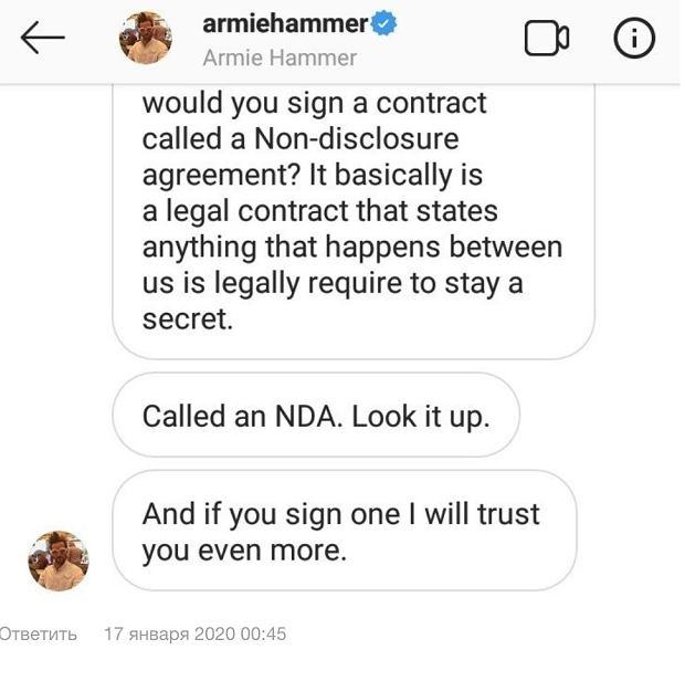 Armie Hammer jest kanibalem? Wypłynęły dziwne wiadomości