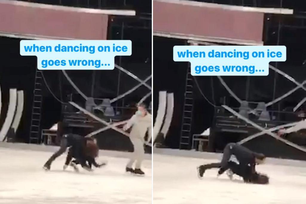 Niebezpieczny wypadek na lodzie