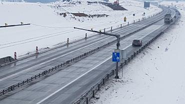 Odcinkowy pomiar prędkości na budowanym odcinku A1