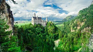 Bawaria dąży do niepodległości? Na zdjęciu zamek Neuschwanstein w Bawarii