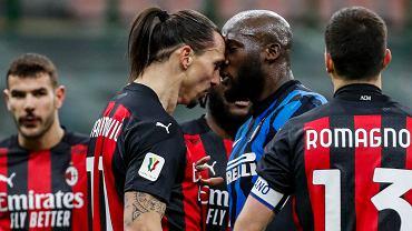 Zlatan Ibrahimović kontra Romelu Lukaku. Derby Mediolanu w Pucharze Włoch