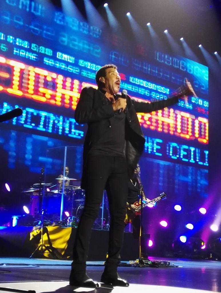 Lionel Richie na koncercie w Polsce