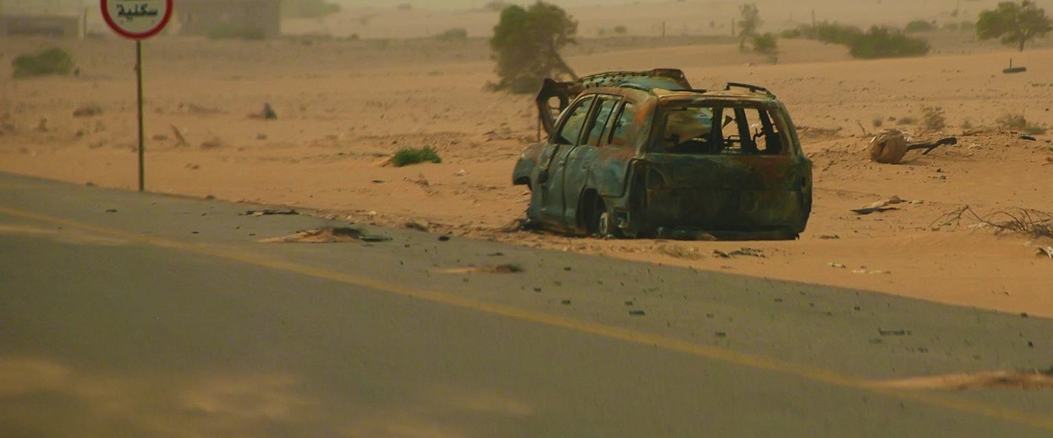Droga w Libii (fot. Shutterstock)