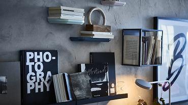 Nowoczesne półki na książki