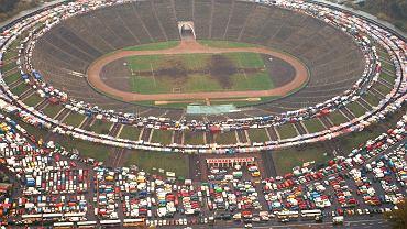 Stadion Dziesięciolecia w 1997 roku