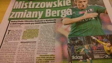 Prasa po meczu Wisła - Legia
