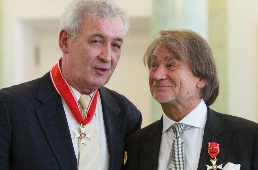 Waldemar Dąbrowski i Jan Kulczyk