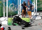 Rio 2016. Gigantyczna kamera spadła na ludzi w parku olimpijskim. Siedem osób rannych