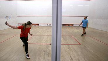 Rozgrywki squasha w klubie Sportspark