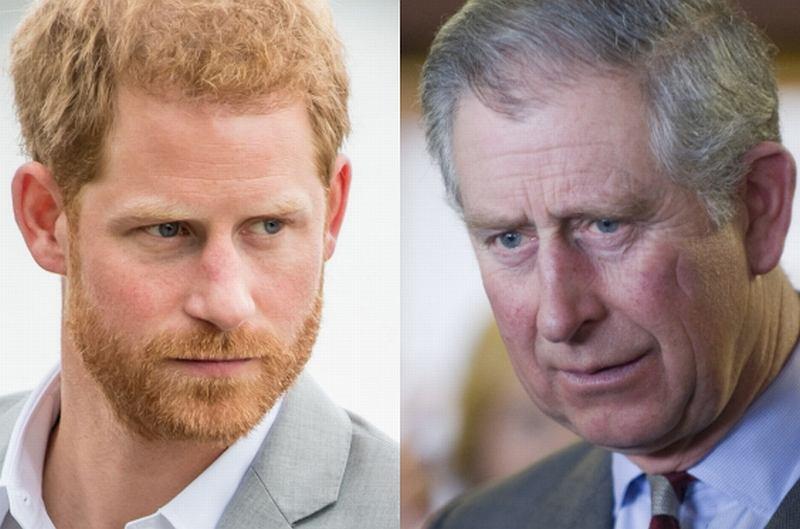 Książę Harry nie jest synem księcia Williama?