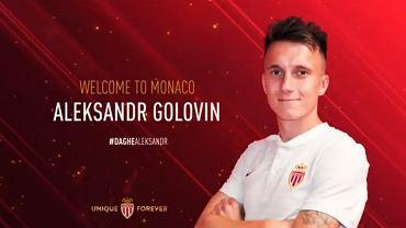 Aleksandr Gołowin zawodnikiem AS Monaco