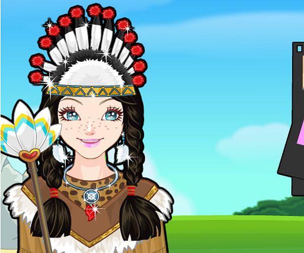 Ubieranka: Indianka