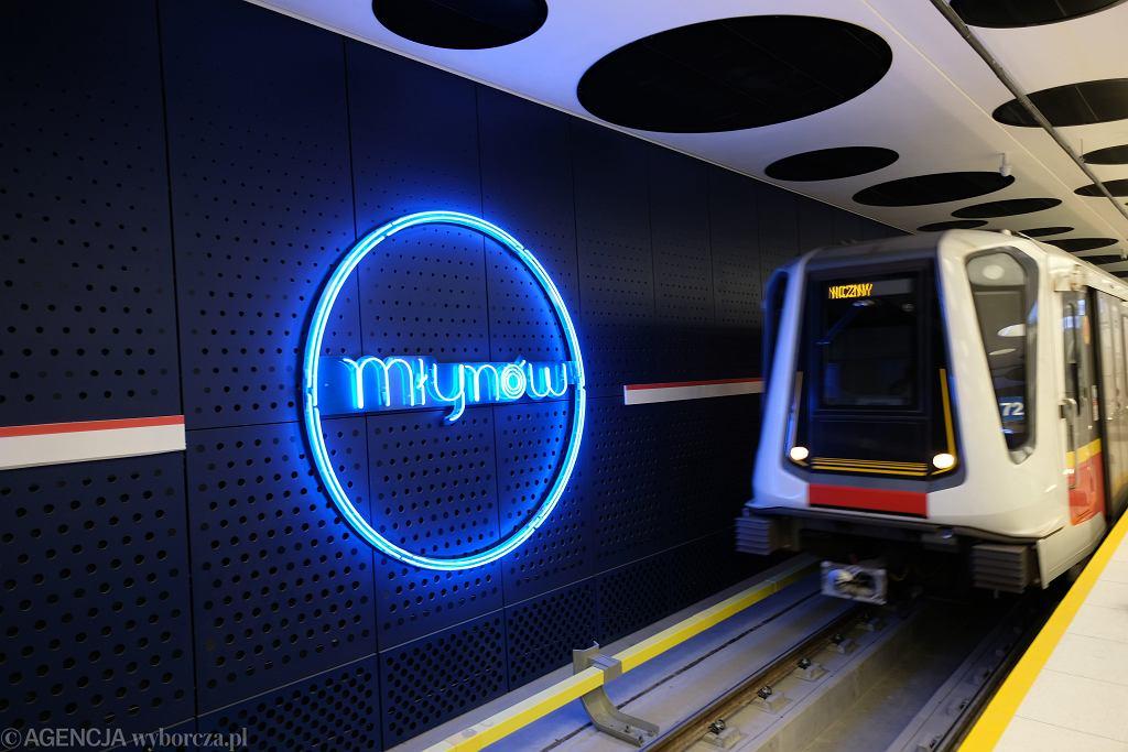Stacja metra Młynów w Warszawie