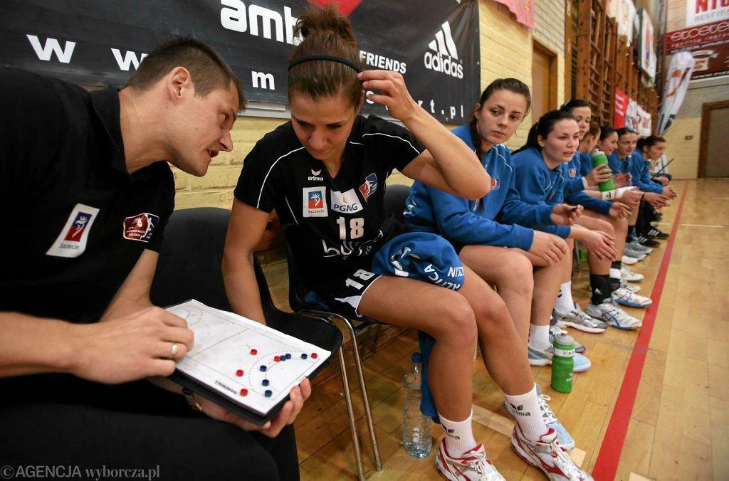 Trener Adrian Struzik