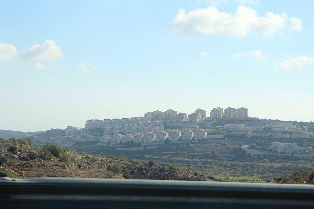 Izraelskie osiedle na Zachodnim Brzegu