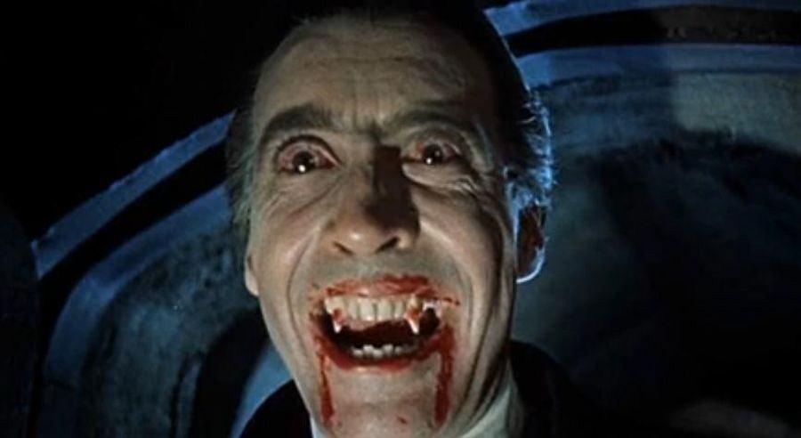 Christopher Lee jako Dracula