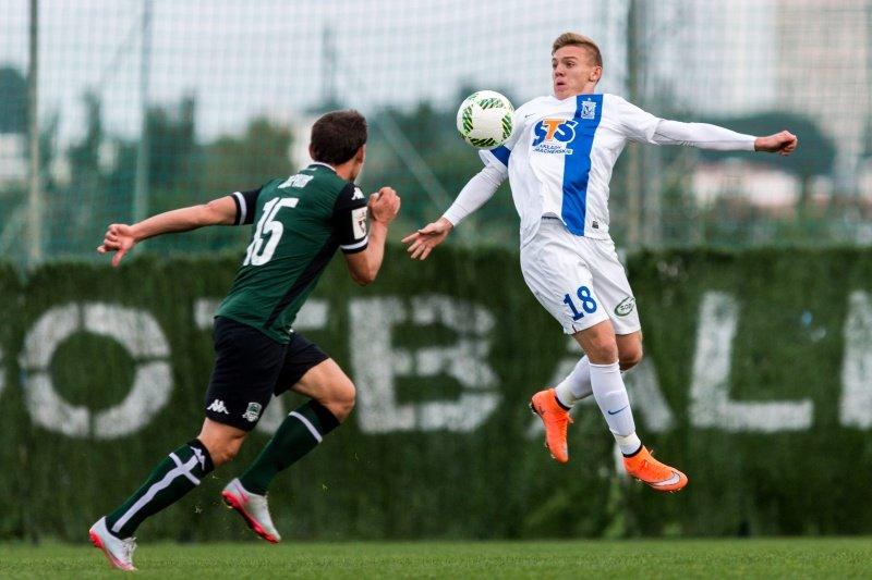 Lech Poznań - FK Krasnodar 1:1 w sparingu w Hiszpanii. Kamil Jóźwiak