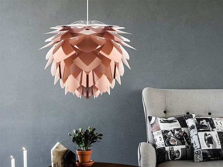 Designerska lampa Silvia