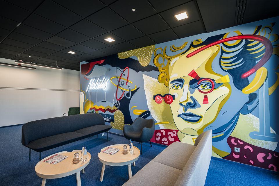 Mural w CitySpace Nobilis