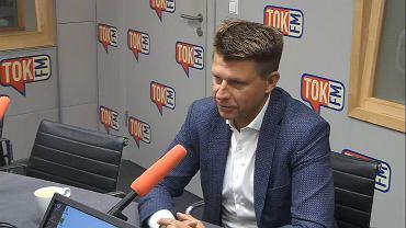 Ryszard Petru w studiu TOK FM.
