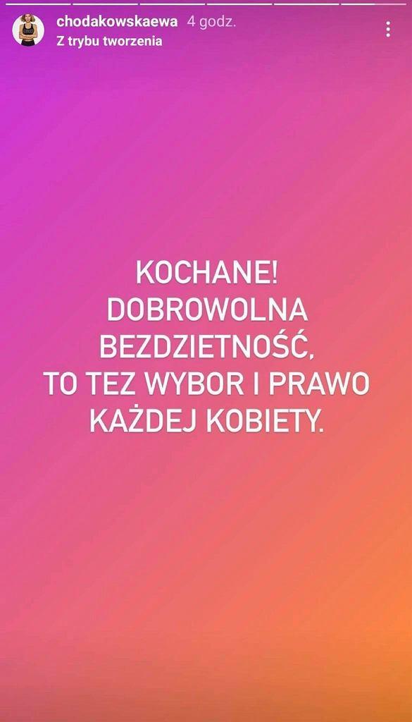 Ewa Chodakowska odpowiedziała na komentarz fanki. 'Dobrowolna bezdzietność to też wybór i prawo każdej kobiety'