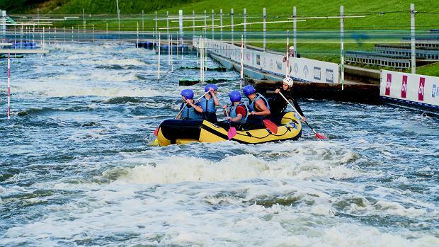 Pomysł na wieczór kawalerski: rafting na Kolnej