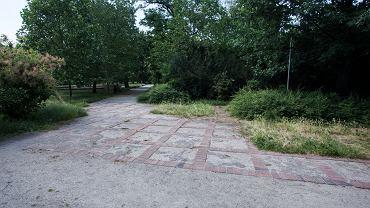 Park przy ul. Kolejowej