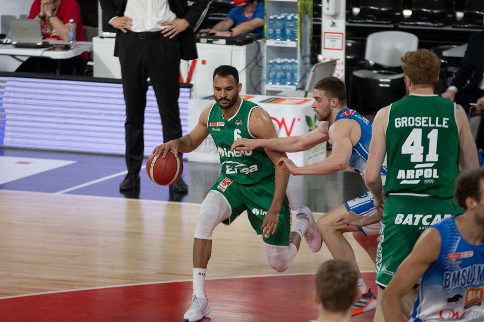 W drugim meczu finałów 2021 Energa Basket Ligi koszykarze Enea Zastalu Zielona Góra przegrali 71:87 z BM Slam Stalą Ostrów Wlkp. W serii jest remis 1:1