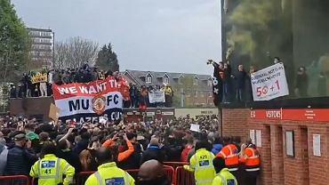 Protest fanów Manchesteru United