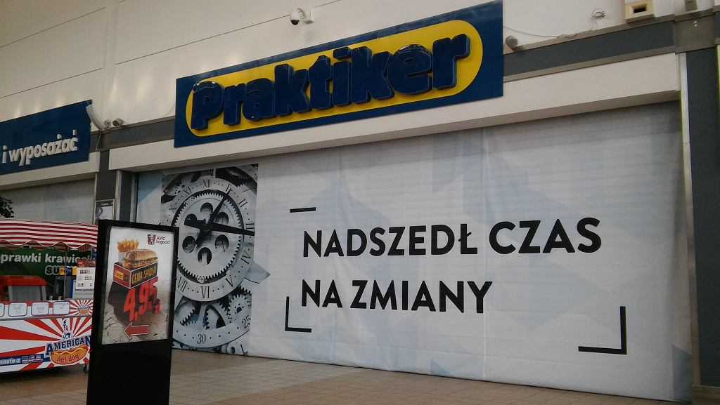 Praktiker Radom zamknięty od lutego 2017 r.