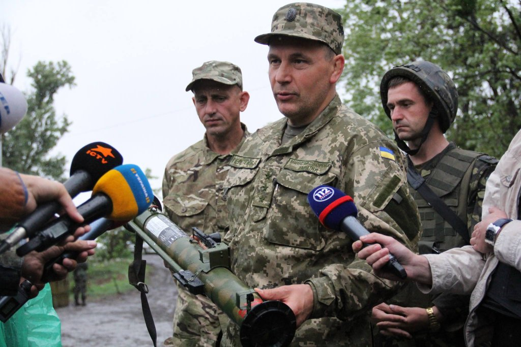 Szef ukraińskiego MON Walerij Hełetej