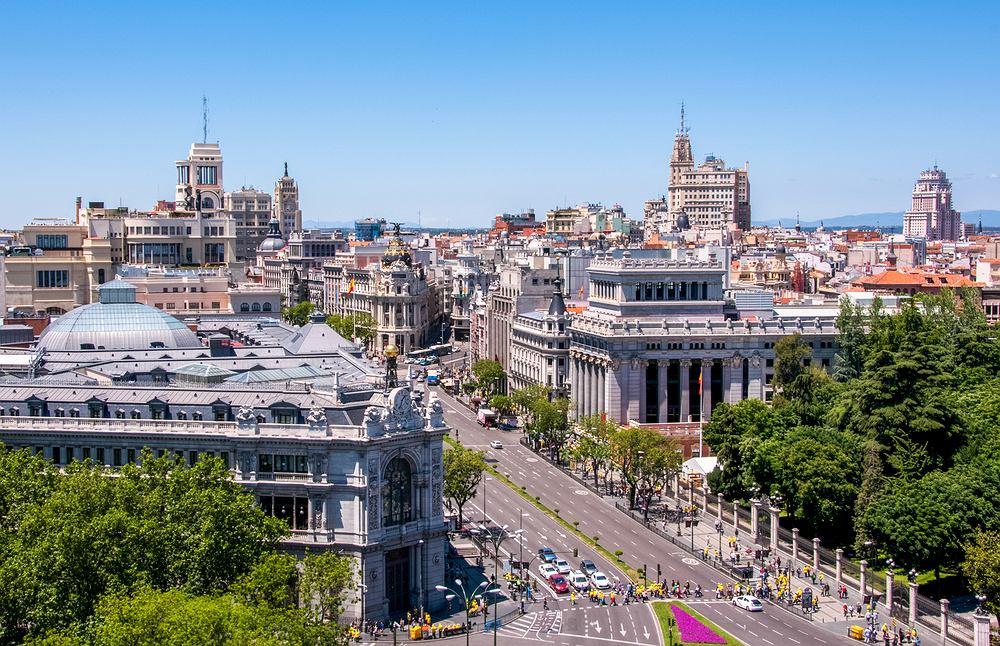 Widok na Madryt