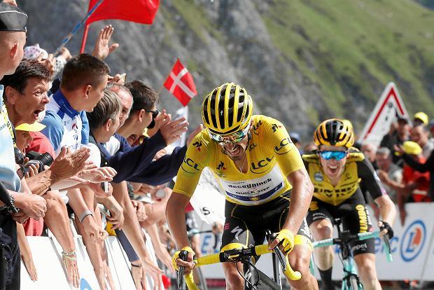 Zmiany w klasyfikacji generalnej Tour de France. Alaphilippe po raz pierwszy okazał słabość