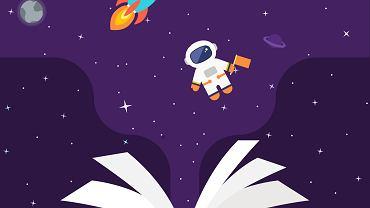 Książki o kosmosie to świetny pomysł na prezent, który będzie rozwijający dla dziecka
