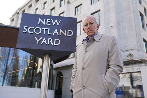 Peter Bleksley na planie serialu 'New Scotland Yard Files' (fot. Archiwum prywatne)