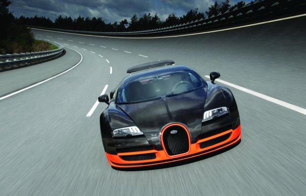 Bugatti Veyron 8.0 Litre W16 Super Sport