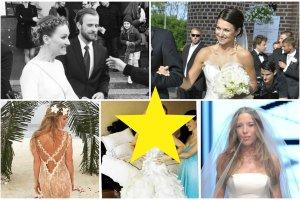 Suknie ślubne gwiazd