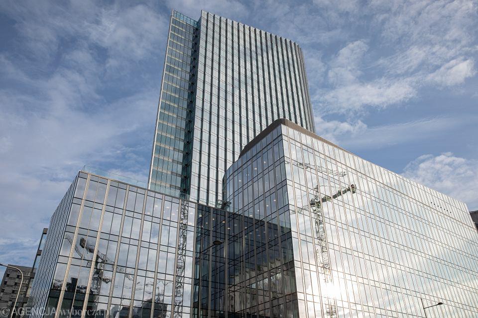 Biurowce w Warszawie. Mennica Legacy Tower.