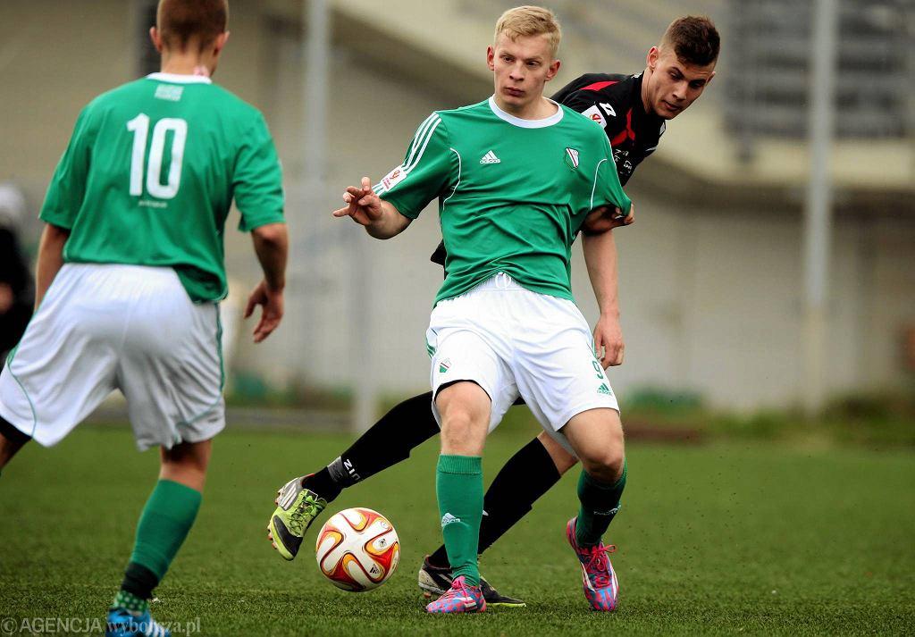Mecz Centralnej Ligi Juniorów Legia - Polonia