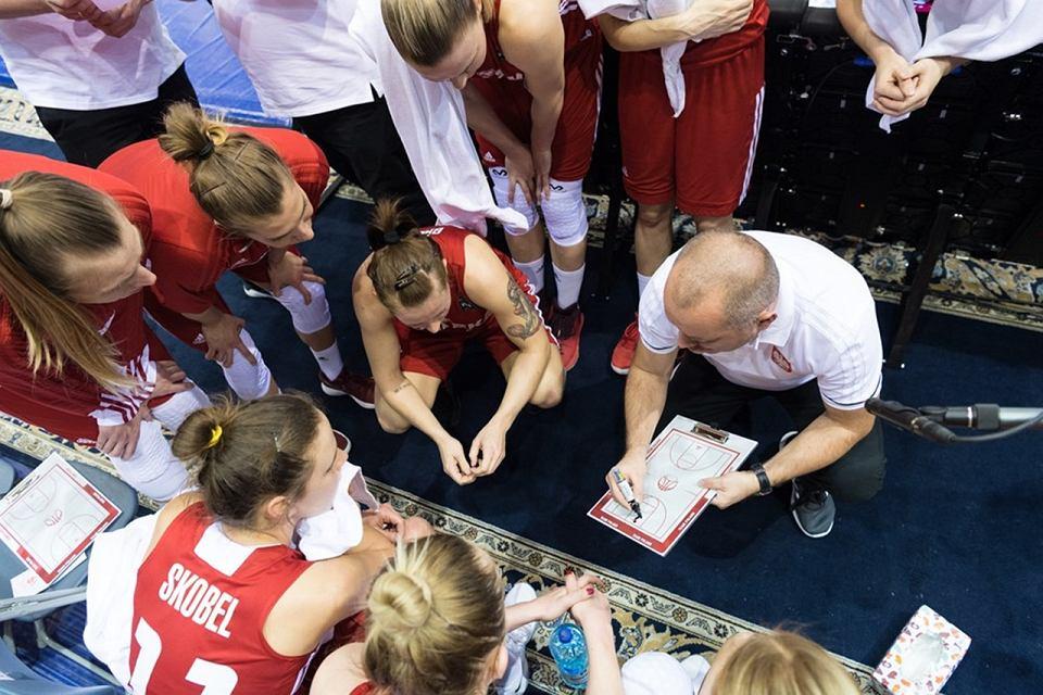 W kwalifikacjach do Eurobasketu 2019 polskie koszykarki przegrały na wyjeździe z Białorusią 50:71