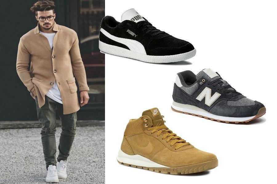Męskie buty sportowe na jesień